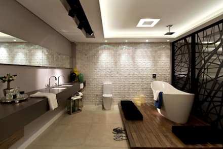 eclectic Bathroom by ArchDesign STUDIO