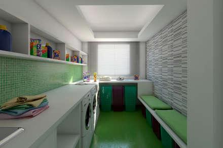 ห้องครัว by Ideia1 Arquitetura