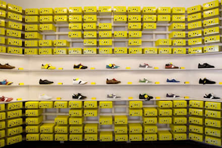 Botas shoes showroom:  Shopping Centres by studio deFORM