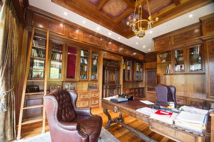 مكتب عمل أو دراسة تنفيذ Liquid Interiors