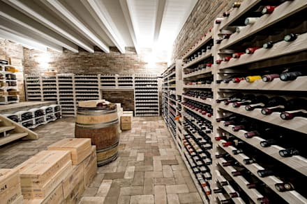country Wine cellar by Studio Magenis Professionisti Associati