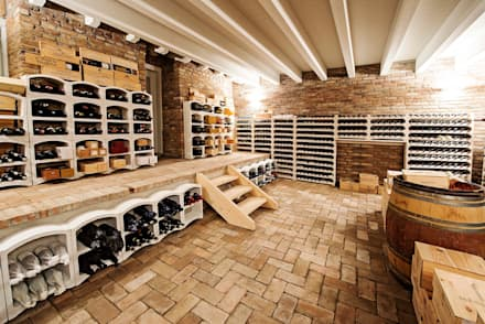 country Wine cellar by Studio Magenis Professionisti Associati