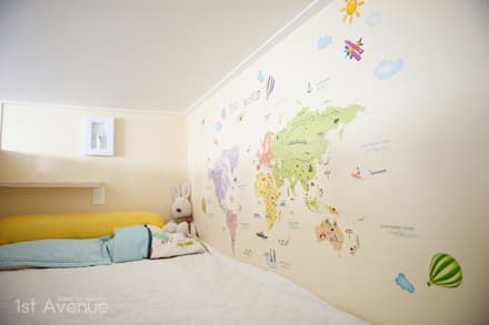엄마의 사랑이 피어나는 러블리 하우스: 퍼스트애비뉴의  아이방