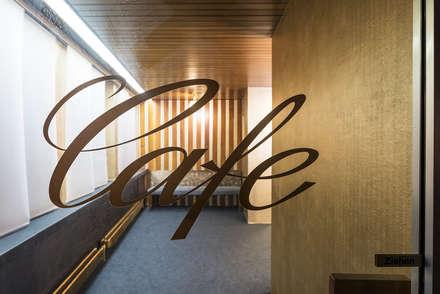 Zugang zum Cafebereich:  Museen von InteriorPark.