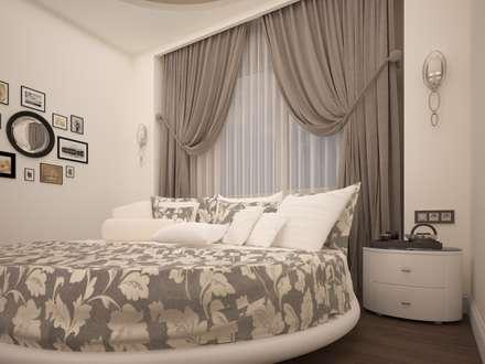 Pavshino: Спальни в . Автор – Alfia Ilkiv Interior Designer