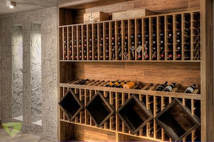 country Wine cellar by Olaa Arquitetos