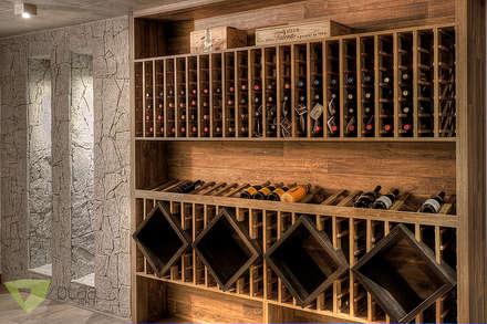 Olaa Arquitetos의  와인 보관