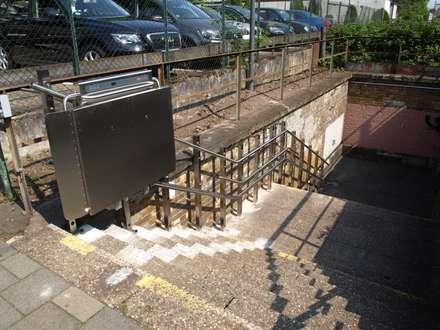 Plattformlift (Kurve):  Stadien von Wachsmann Lift-Technik