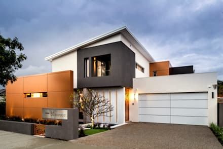 Menora Residence: modern Houses by Moda Interiors