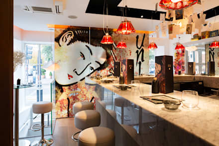 UNI Sushi:  Bars & clubs by Adventure In Architecture