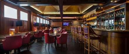 Montreux Jazz Café Fairmont by Aedas Interiors:  Gastronomy by Aedas
