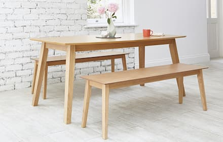 Clayton: scandinavian Dining room by Out & Out Original