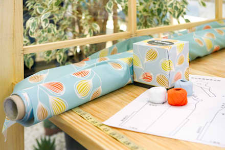 "Kleenex ""eco-Decor"" Casa Decor 2014: Ferias de estilo  de Egue y Seta"