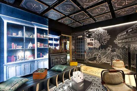 """Print Avenue"". Espacio Casa Decor Barcelona 2012 para Sabaté: Ferias de estilo  de Egue y Seta"