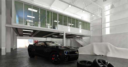 Varios: Garajes de estilo clásico por arkitecto9.com