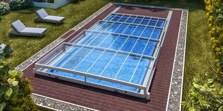 Modell Horizont: moderner Pool von Pool + Wellness City GmbH