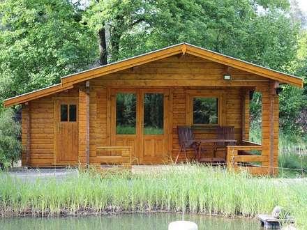 scandinavian Houses by Betana Blockhaus GmbH