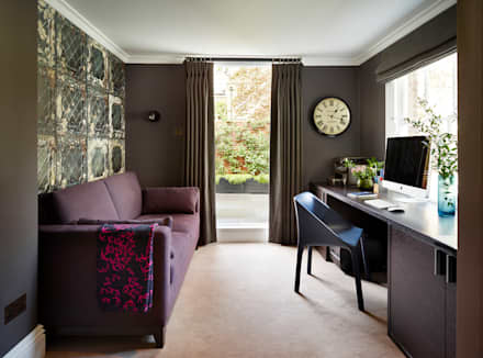 Reflected Glory - Holland Park Renovation: classic Study/office by Tyler Mandic Ltd