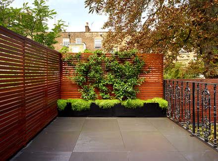 Reflected Glory - Holland Park Renovation: modern Garden by Tyler Mandic Ltd