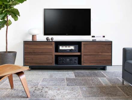 Aero Audio and Entertainment: classic Media room by Symbol Audio