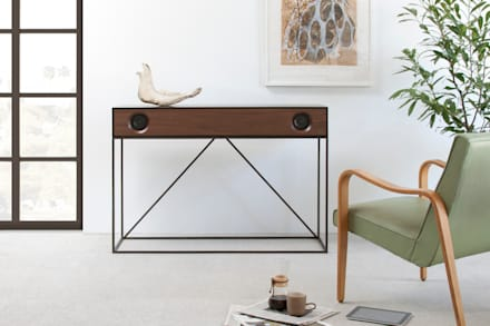 Stereo Console: classic Media room by Symbol Audio