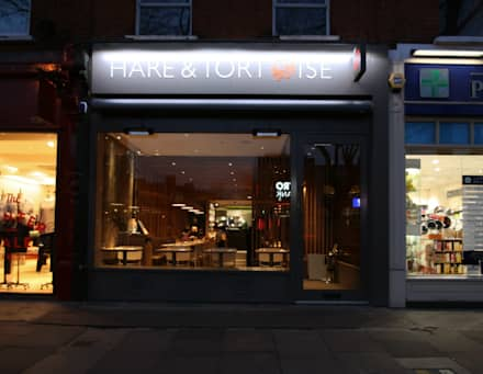 Hare & Tortoise, Chiswick:  Gastronomy by S&Y Architects