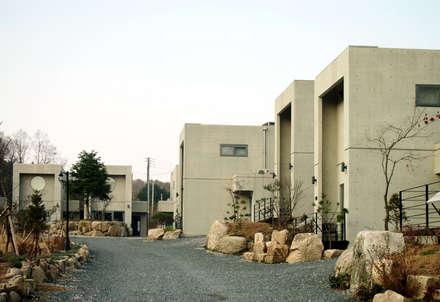포천 하이엔드 빌리지 Pocheon  san-jeong  lake  pension  housing: 건축디자인팩토리의  호텔