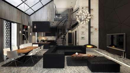 homify: modern tarz Oturma Odası