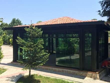 Nhà kính by Tabiat Ahşap Tasarım ve Uygulama San. Tic. Ltd. Şti