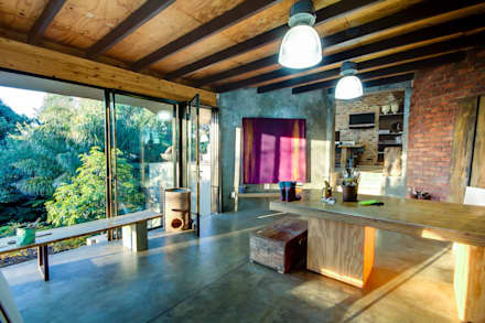 House Fern : modern Study/office by Nico Van Der Meulen Architects