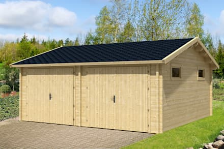 Prefabricated Garage by BRICOJARDIN ON LINE SLU