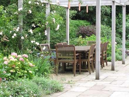 حیاط by Cherry Mills Garden Design