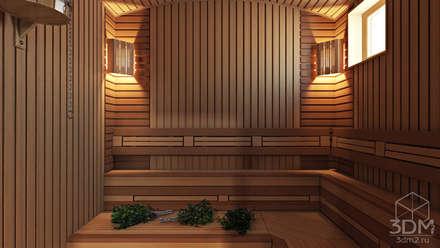 Spa de estilo rural por студия визуализации и дизайна интерьера '3dm2'
