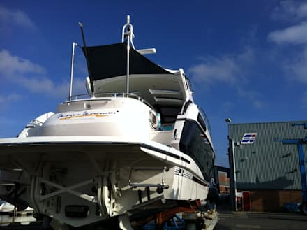 Various Shade Ideas: modern Yachts & jets by Kemp Sails LTD