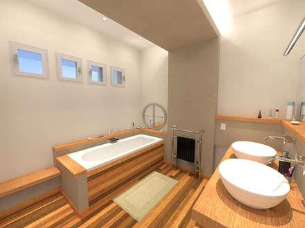 Salle de bain: Salle de bain de style de style Moderne par ARtchidesign