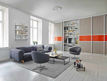 So Wird Ihr Wohnzimmer Zum Lieblingsplatz!: Skandinavische Wohnzimmer Von  Elfa Deutschland GmbH