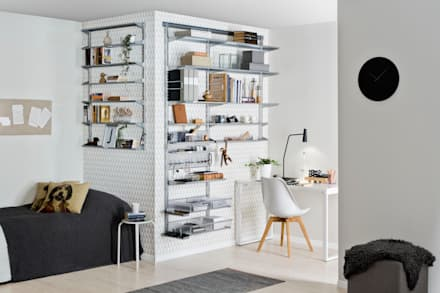 minimalistic Study/office by Elfa Deutschland GmbH