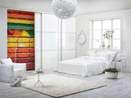 Willkommen in der organisierten Welt von Elfa!: skandinavische Schlafzimmer von Elfa Deutschland GmbH