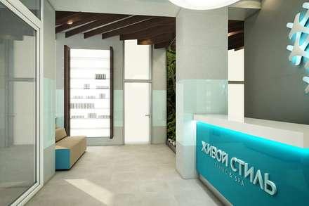 Beauty Clinic:  Clinics by EVGENY BELYAEV DESIGN