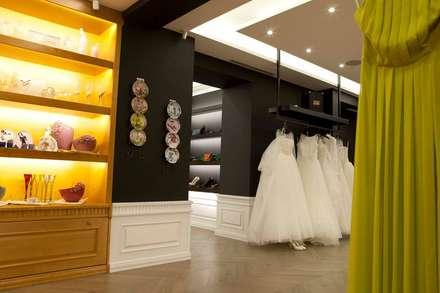 Center of Wedding Fashion:  Offices & stores by EVGENY BELYAEV DESIGN