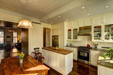 colonial Kitchen by Ben Herzog Architect