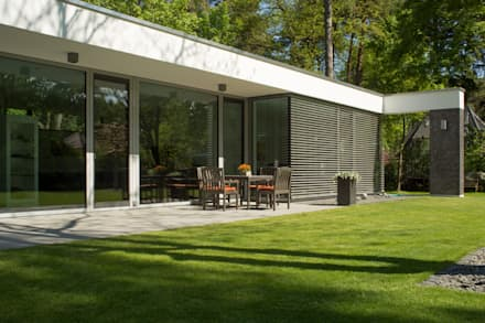 Bungalows inspira o e design homify for Moderne bungalows mit viel glas