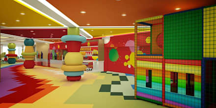 Kids Club:  Bars & clubs by EVGENY BELYAEV DESIGN