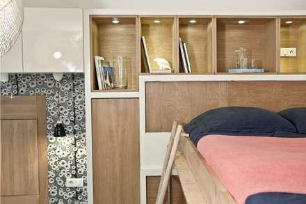 DUHESME: Chambre de style de style Scandinave par Géraldine Laferté