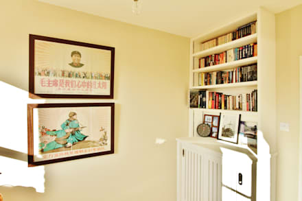 Munster Road : colonial Living room by BTL Property LTD