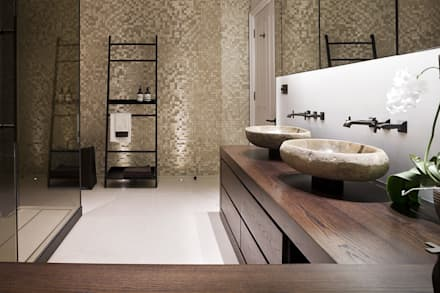 Hertfordshire Home: modern Bathroom by Alessandro Isola Ltd