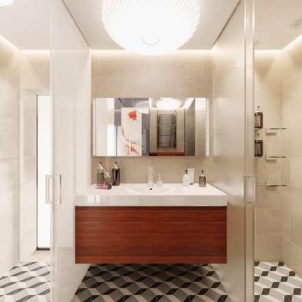 Душевая: Ванные комнаты в . Автор – FEDOROVICH Interior