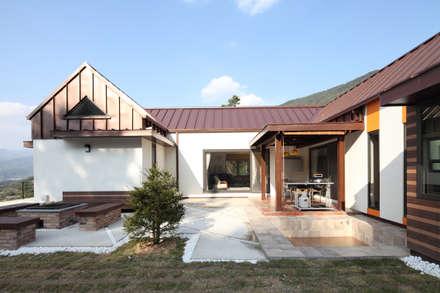 정면: 주택설계전문 디자인그룹 홈스타일토토의  주택
