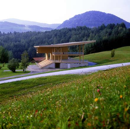 Open Air Stage Piberstein :  Stadien von SOLID architecture ZT GmbH