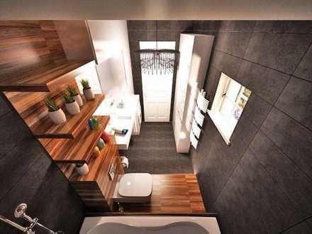 Ванные комнаты: Ванные комнаты в . Автор – O2interior